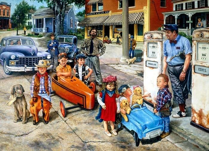 Юные автомобилисты. Истории от Сьюзан Брабо.