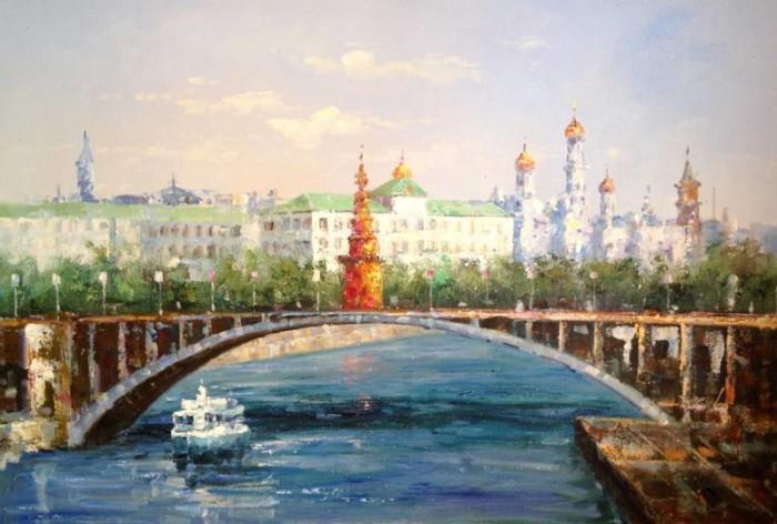 Москва художник: С.В. Минаев