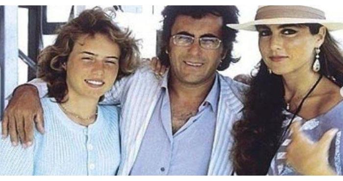 Аль Бано и Ромина Пауэр со старшей дочерью Иленией.
