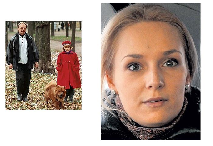 Шакуров с дочерью./ Ольга - дочь Татьяны Кочемасовой и Сергея Шакурова.