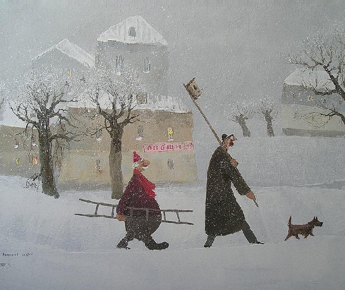 Скворечник. Автор: Андрей Репников.
