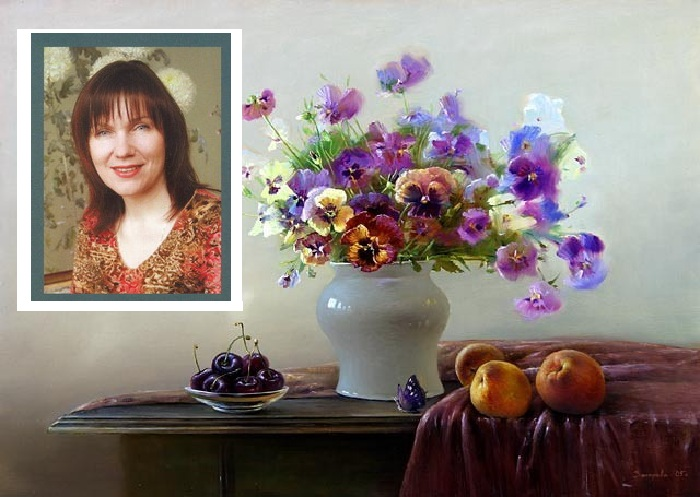 Художница Марина Захарова.