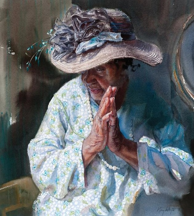 Рrayer. (Молитва). Автор: Mary Whyte. | Фото: obiskusstve.com.