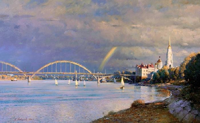 Рыбинск. Автор: Александр Шевелев.