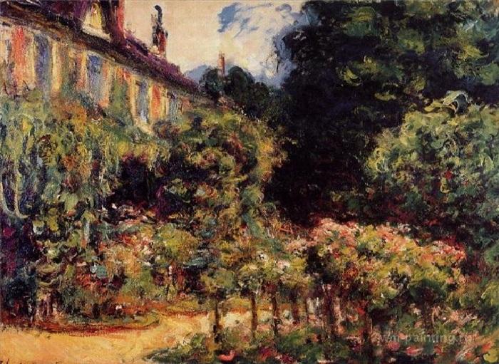 Дом художника в Живерни. Автор: Клод Моне.