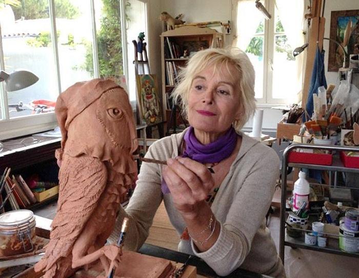 Художница-иллюстратор Агнес Буллош.