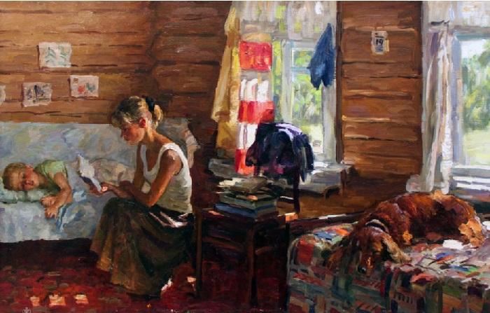 Мамины сказки. Автор: Соломин Николай Николаевич.