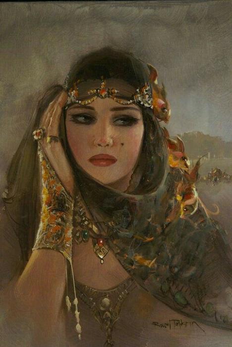 «Восточная девушка». Автор: Remzi Taskiran.