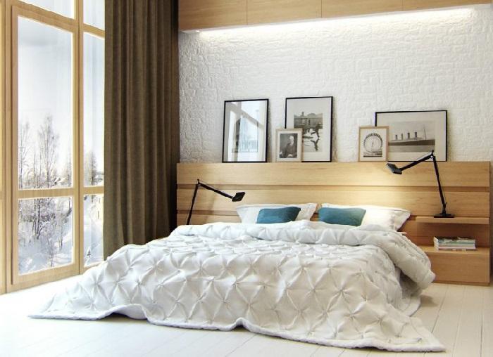 Одна из спальных комнат в особняке Александра Цекало. | Фото: muzhyazheny.ru.
