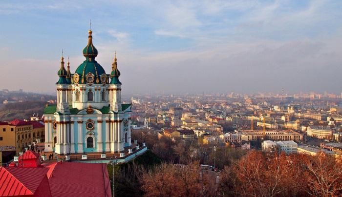 Андреевская церковь. Киев.