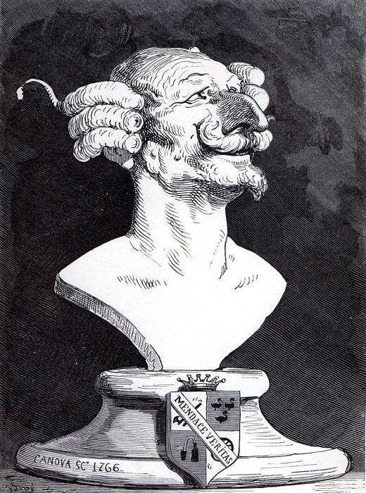 Иллюстрация Гюстава Доре к сборнику Р. Э. Распе.