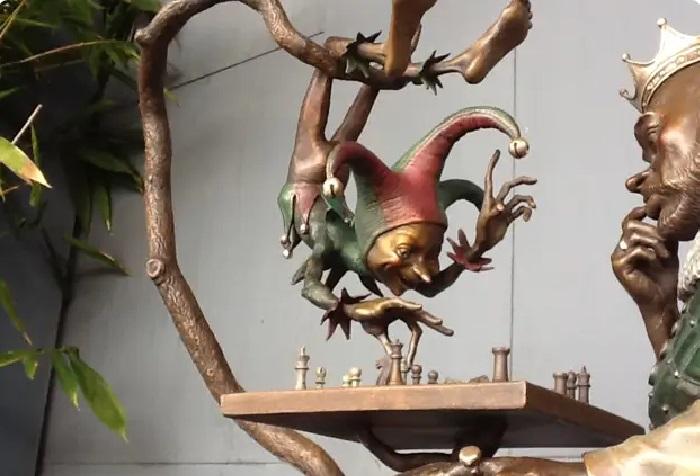 Бронзовая скульптура Дэвида Гуда.   Фото: liveinternet.ru.