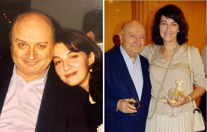 Михаил Жванецкий с супругой Натальей Суворовой.