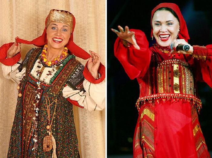 Надежда Бабкина - певица-народница.