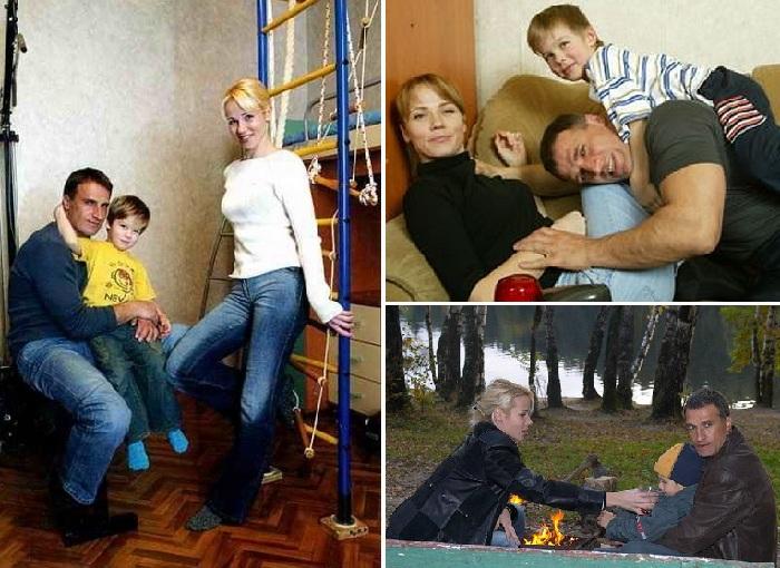 Семья Александра Дедюшко.