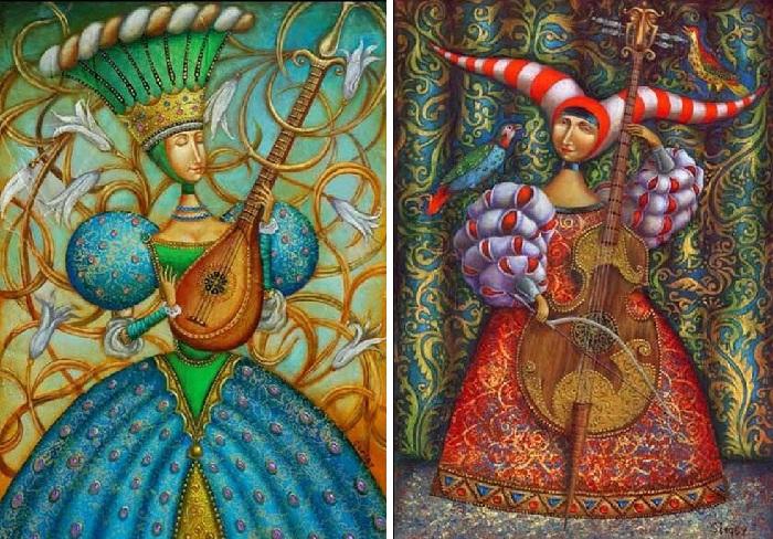 Уникальная живопись от Сергея Ивченко.
