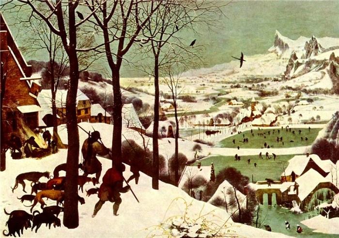 «Охотники на снегу». Питер Брейгель.