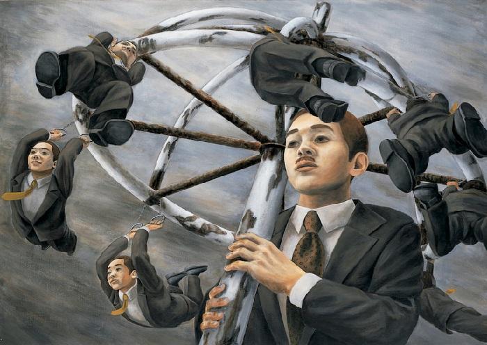 Сюрреализм от японского художника Tetsuya Ishida.