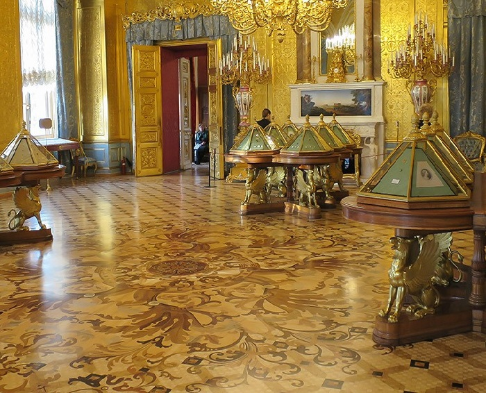 Золотая гостиная Эрмитажа. | Фото: spbfotos.ru.