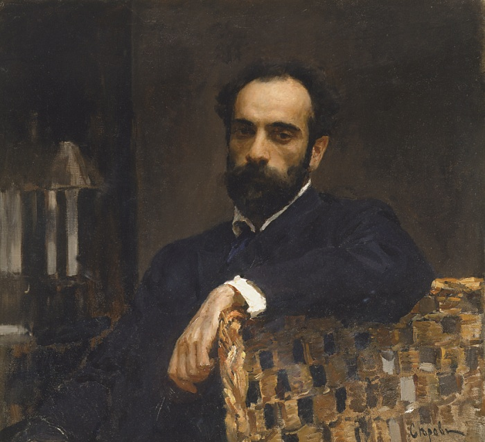 Исаак Левитан. (1893). Автор: Валентин Серов.