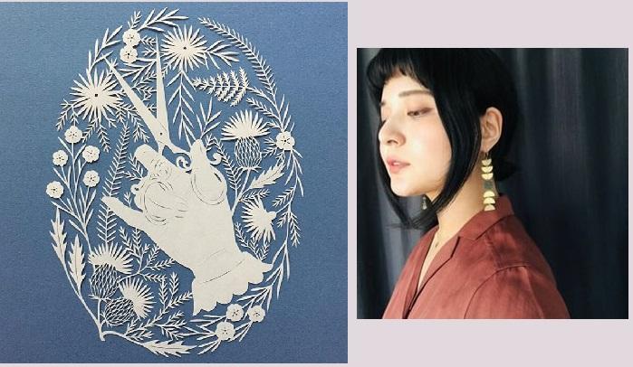 Удивительные композиции из бумаги от художницы Канако Абе.