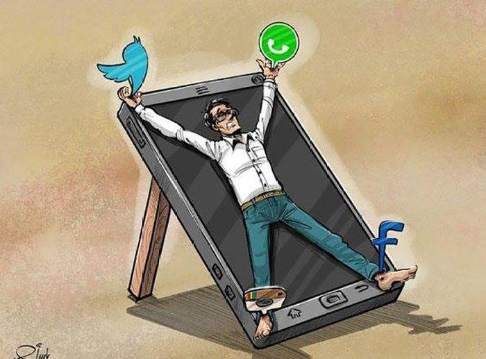 Жертва цифровых технологий.