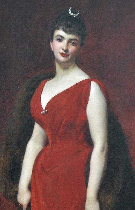 «Портрет мадам Эдгар Стерн». (1889). Автор: Каролюс-Дюран.