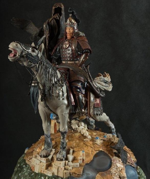 Камнерезная работа «Тамерлан» из коллекции «Великие завоеватели».