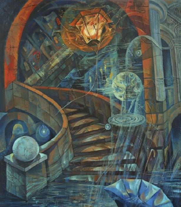 Полнолуние в Санкт-Петербурге. Автор: Наталия Шатрова.