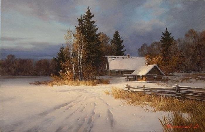 Пейзажная живопись от Дмитрия Колпашникова.