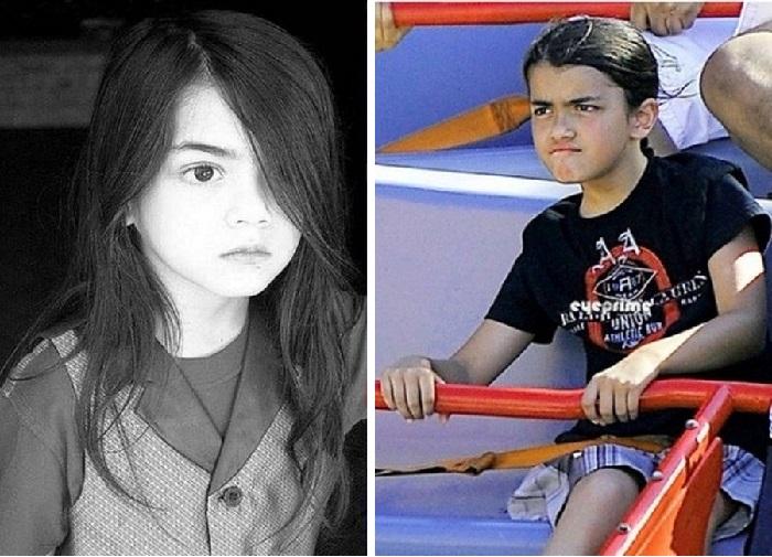 Младший сын Майкла Джексона.