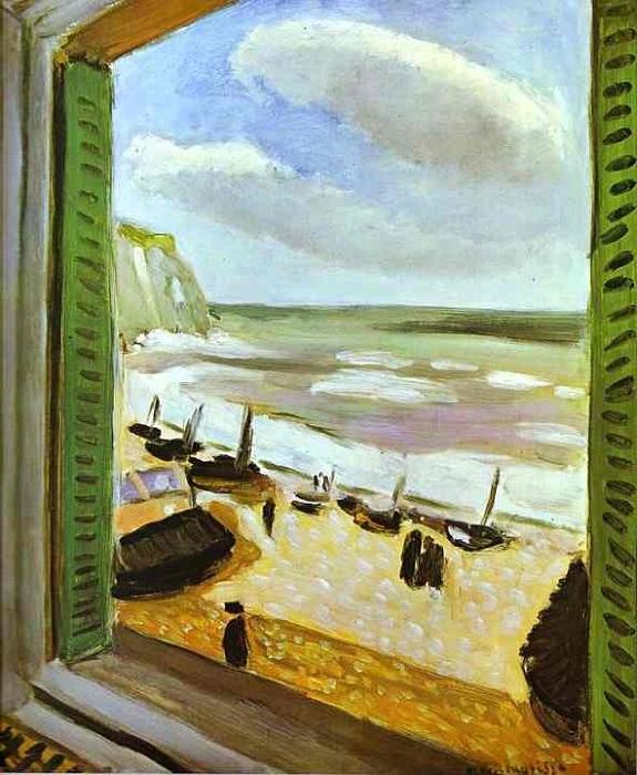 Открытое окно в Коллиуре. Автор: Андре Матисс.