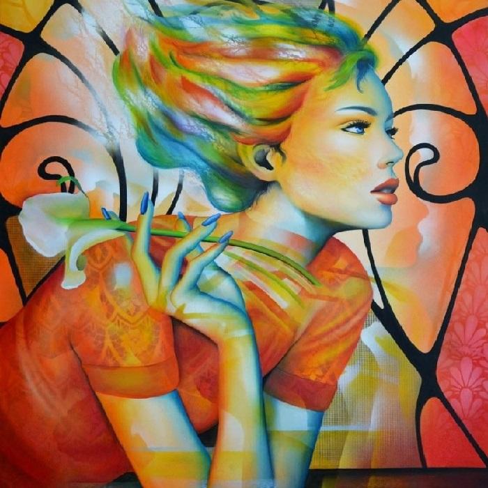 Живопись в технике «oil glacis» от Jeannette Guichard-Bunel.   Фото: http://vissage.ru.