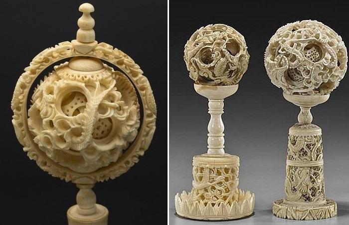 Секреты ажурных китайских шаров из слоновой кости, которые называли «работой дьявола»