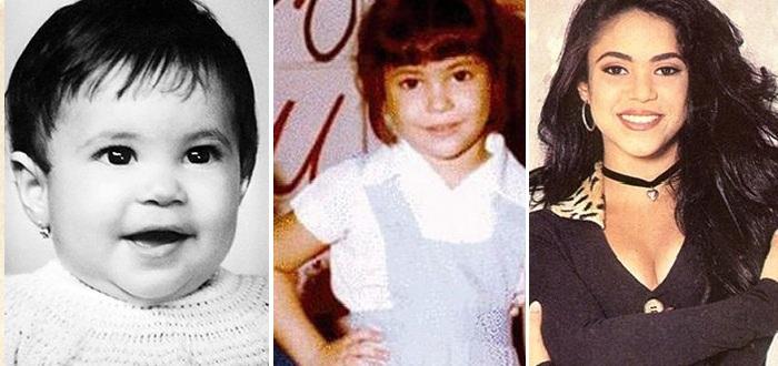 Шакира в детские и юные годы.