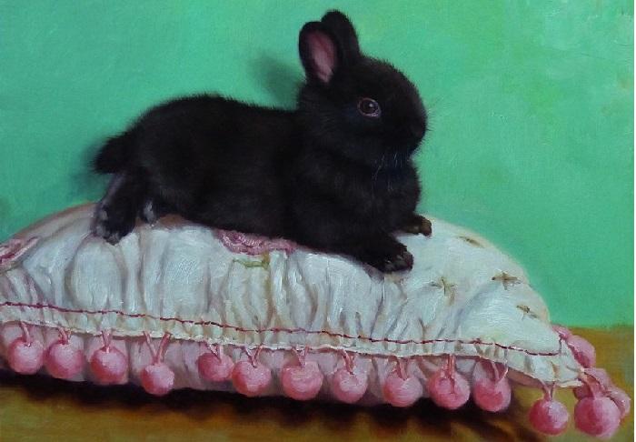 Крольчонок. Автор: Lucia Heffernan.
