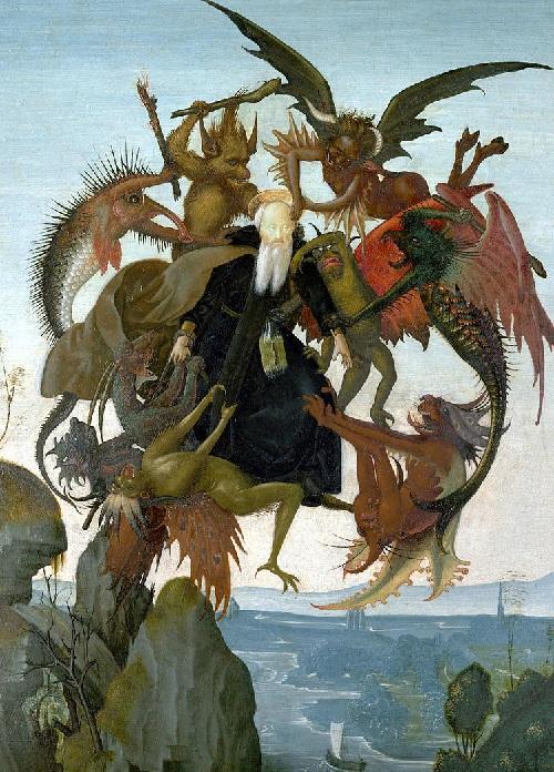 Итальянская картина 12-летнего Микеланджело: самая ранняя работа.