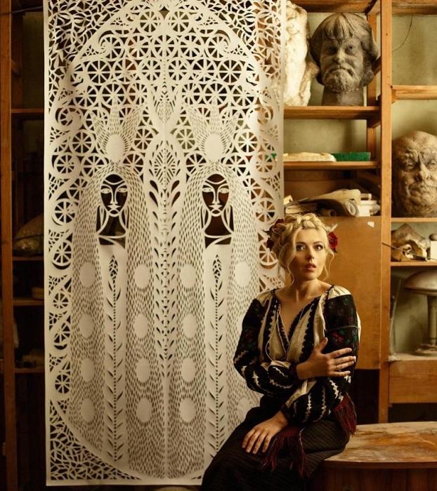 Дарья Алешкина - украинская художница.