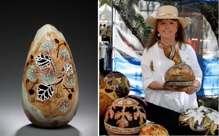 Американская художница Мэрилин Сандерленд.