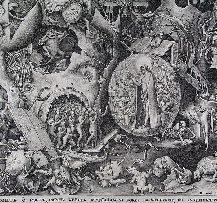 Сошествие Христа в ад. Питер Брейгель Старший.