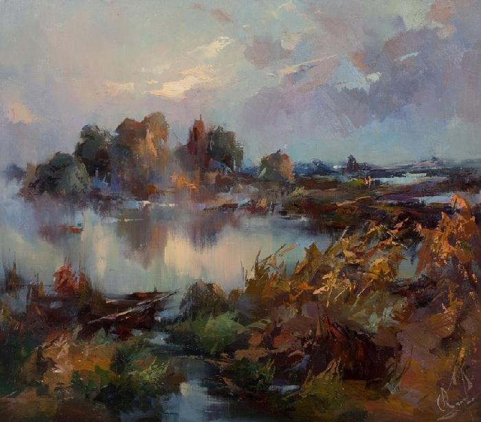 «Осенний мотив». Автор: Юрий Козяр.