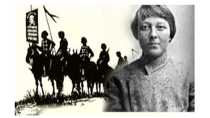 Мария Никифорова -лихая атаманша гражданской войны., за которой закрепилась прочная репутация черта в юбке и синей бороды.