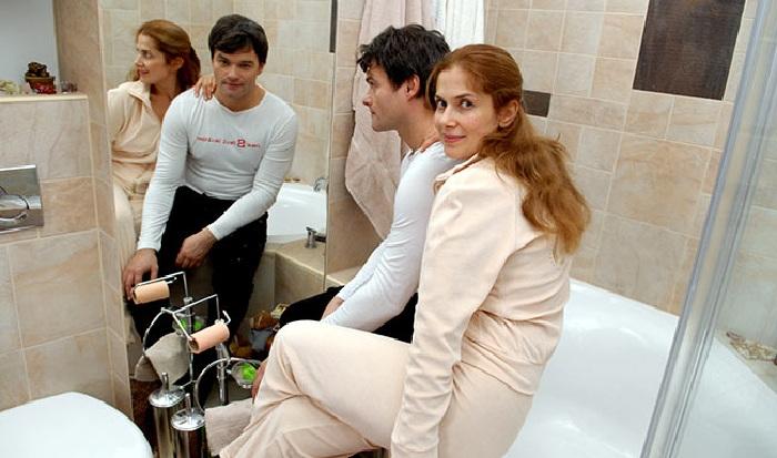 В Питерской квартире Евгения Дятлова.
