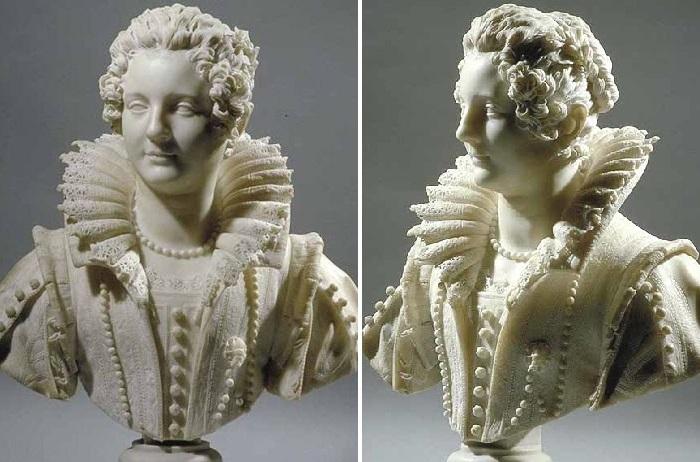 «Мария Барберини». (1626 год). Лувр. Париж<br>Скульптор: Джулиано Финелли.