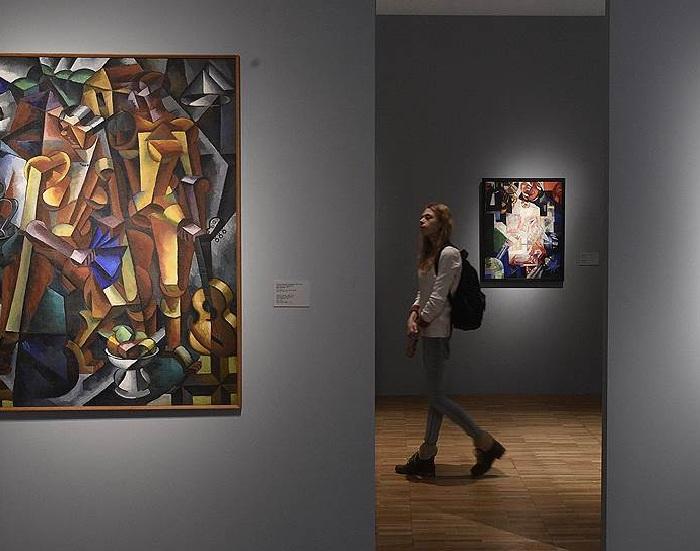 Выставка авангардного искусства.