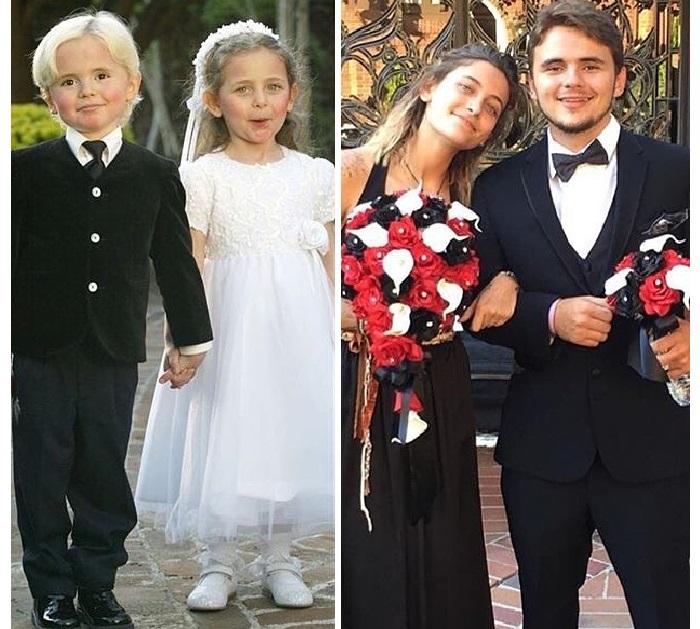Старшие дети Майкла Джексона.