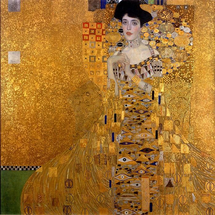 Портрет <br>Адель Блох-Бауэр I. Автор: Gustav Klimt.