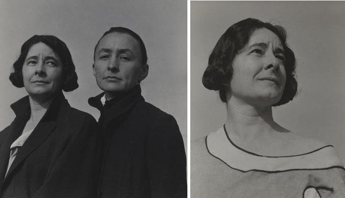 Альфред Стиглиц. Портрет сестёр О'КифФ (1924). / Ида О'Кифф - художница, попавшая в тень своей знаменитой сестры.