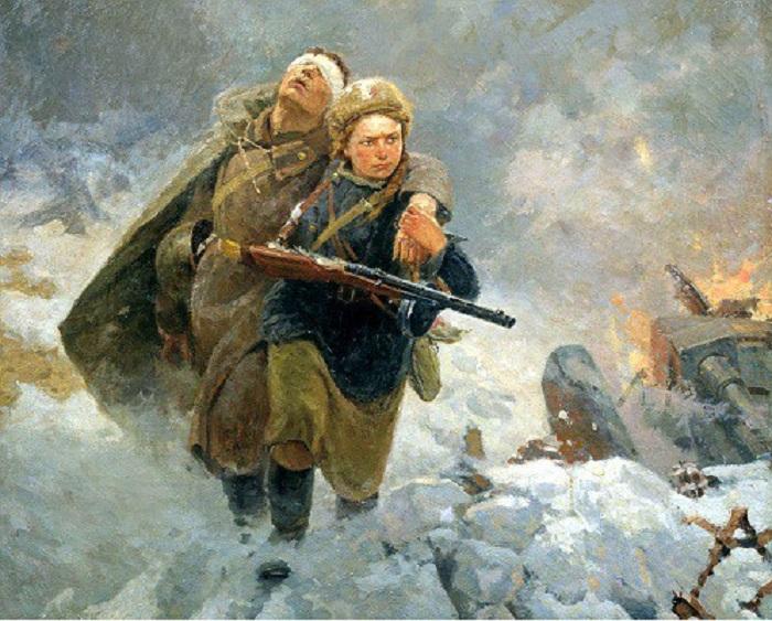 Сестрица. (1954 год). Автор: М.И. Самсонов.
