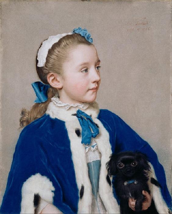 Пастельные портреты от Жана-Этьена Лиотара.